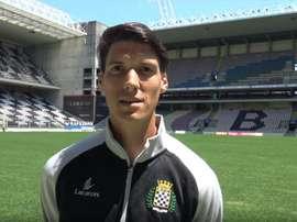 Federico Falcone ya viste los colores del Boavista. BoavistaFC