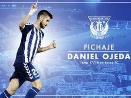 Daniel Ojeda rejoint la Liga. CDLeganes