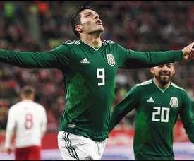 México demostró carácter para remontar el encuentro. AFP