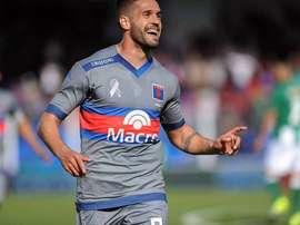 Federico González llegó a Puebla procedente de Tigre el pasado mes de enero. Twitter