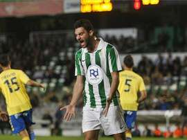 El delantero del Córdoba Arturo Rodríguez. Twitter