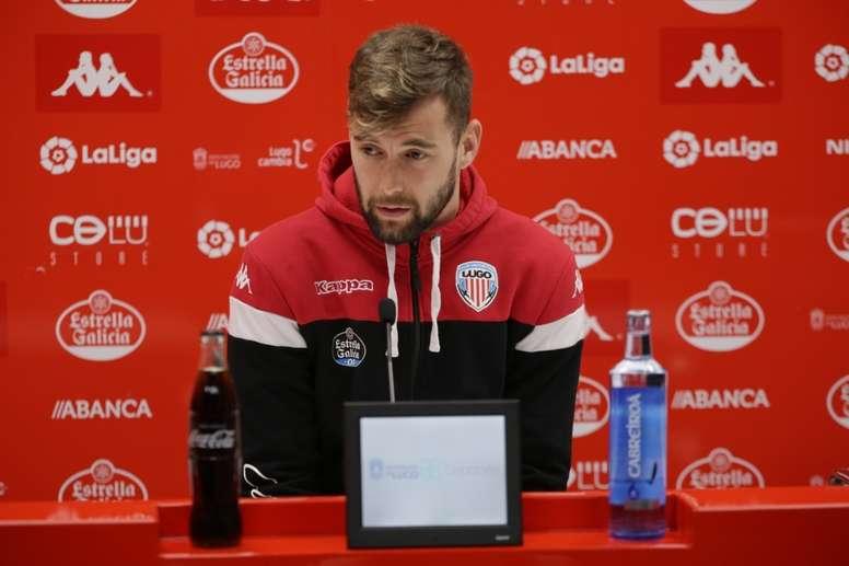 El Lugo se enfrenta al Fuenlabrada en la próxima jornada. CDLugo