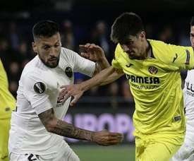 Garay analyses Valencia's chances against Messi and Barça. EFE