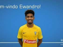 Ewandro jugará como cedido en Portugal. Twitter/EstorilPraiaSAD