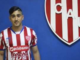 El delantero Guido Vadalá ficha por Unión Santa Fe. ClubAtléticoUnión