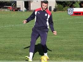 Marcus Haber ya es nuevo jugador del Dundee. DundeeFootballClub