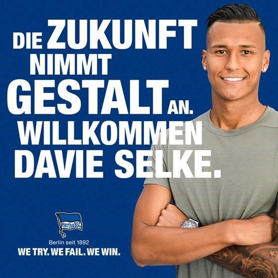 Atacante de 22 anos ainda não alcançou tudo o que o seu potencial previa, será no Hertha? HerthaBSC