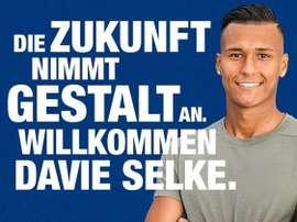 Davie Selke ya es nuevo jugador del Hertha. HerthaBSC
