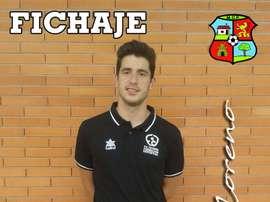 Javi Moreno, nuevo jugador del Moralo. CPMoralo