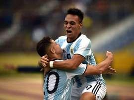 Lautaro aurait déjà un contrat avec l'Atléti. AFP