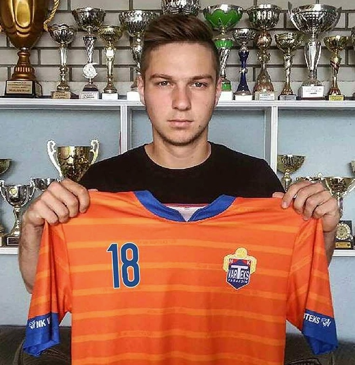 El NK Varteks fichó recientemente a Luka Modric. NKVarteksOfficial