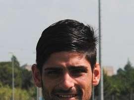 Óscar Muñoz ya es nuevo jugador del Sabadell. CESabadell