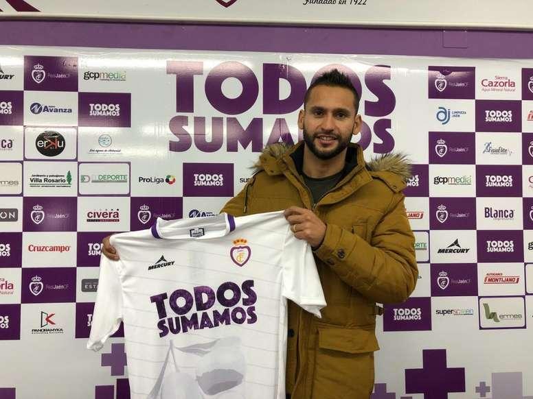 Pedro Beda jugará hasta final de temporada con el cuadro andaluz. RealJaén