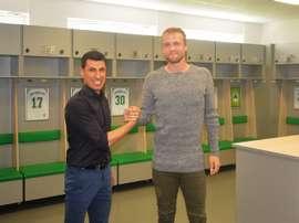 Philipp Hofmann, nuevo jugador del Greuther Fürth. SpVggGreutherFürth