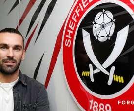 Holmes firmó hasta junio de 2020. SheffieldUnited