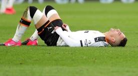 Inquiétude à Valence pour les genoux de Rodrigo. EFE