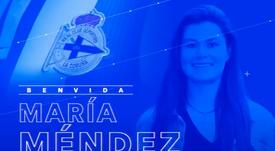 María Méndez ya es del Deportivo. RCDeportivo