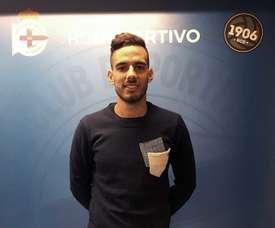 El Deportivo cierra para su filial el fichaje de Manu Molina. RCD