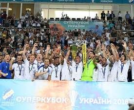 Séptima Supercopa para el Dinamo de Kiev. Twitter/DynamoKyiv
