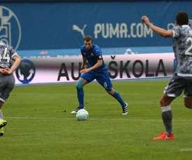 El Dinamo solventó sin excesivos problemas el partido ante el Cibalia. EFE/Archivo