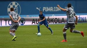 El Dinamo de Zagreb logró un triunfo en el campo del Zapresic. EFE/Archivo