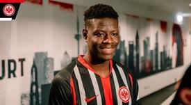 El Einctracht anunció el acuerdo con el Sparta. Twitter/Eintracht