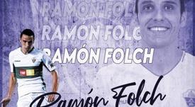 Ramón Folch llega al Tenerife. Captura/Twitter/CDTOficial