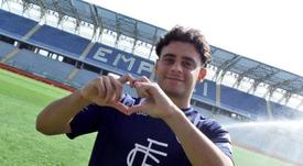 El Empoli hizo oficial la incorporación de Davide Merola. Twitter/EmpoliCalcio
