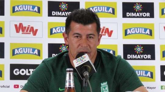 Almirón, en busca de su primer título con Nacional. AtléticoNacional