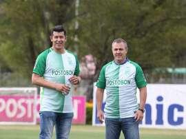 Almirón confía en cerrar la llegada de Giovanni Moreno y Zúñiga. AtléticoNacional