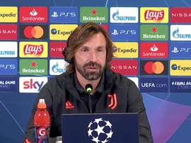 Pirlo appeared in a prematch press conference. JuventusFC