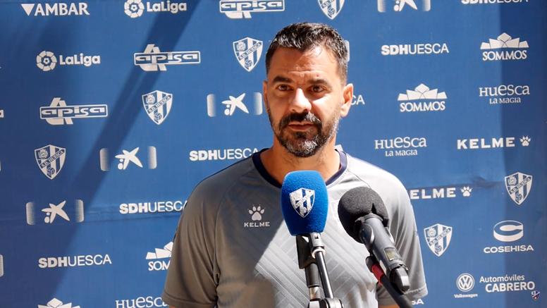 Míchel lamentó la falta de un plan en la SD Huesca. Captura/YouTube/SDHuesca