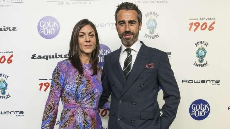 Jorge Vilda recibió el premio en la Gala Hombres con Ideas 2019. Esquire