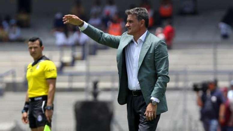 Míchel quiere ir a por todas en la Copa. EFE/Mario Guzmán/Archivo