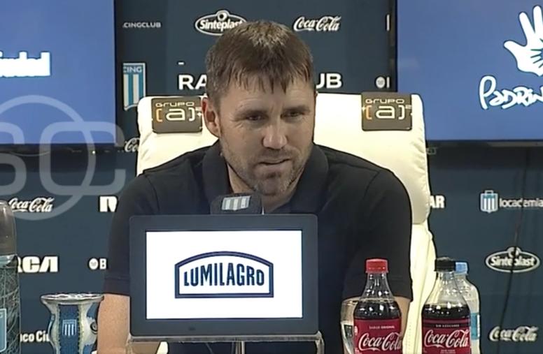 Coudet analizó el duelo ante Belgrano. Captura/ESPN