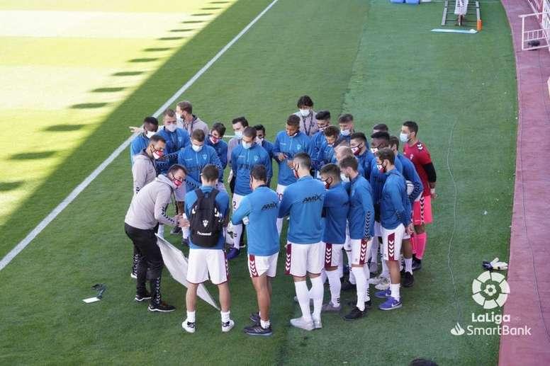 López Garaiz reta al Mallorca tras coger una bocanada de aire. LaLiga