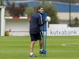 El entrenador del Athletic Club, Ernesto Valverde. Twitter