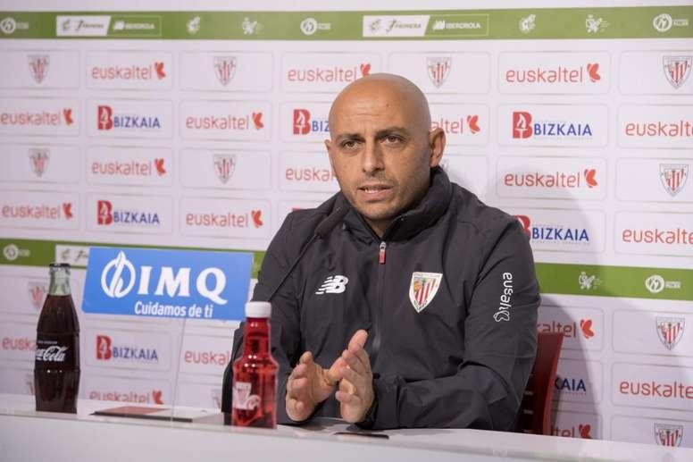 Villacampa renovó un año más con el Athletic. AthleticClub