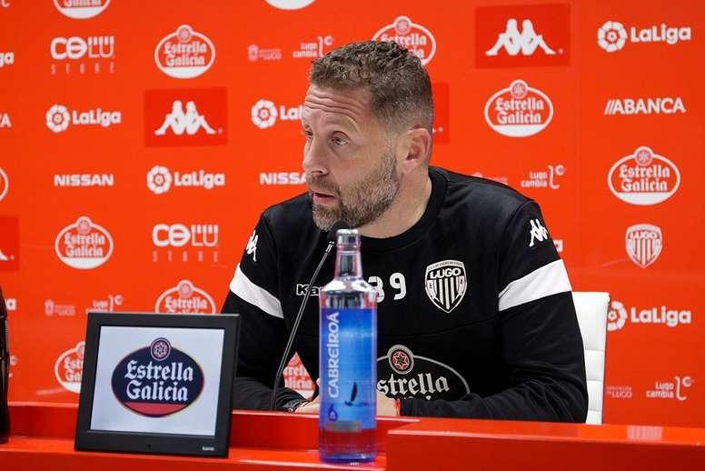 Curro Torres espera romper la mala racha. Twitter/CDeportivoLugo