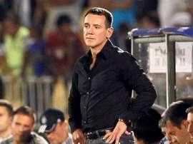 El entrenador del Dinamo de Minsk, Vuk Rasovic. Twitter