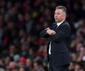 El entrenador del Doncaster Rovers se quejó de los árbitros. AFP