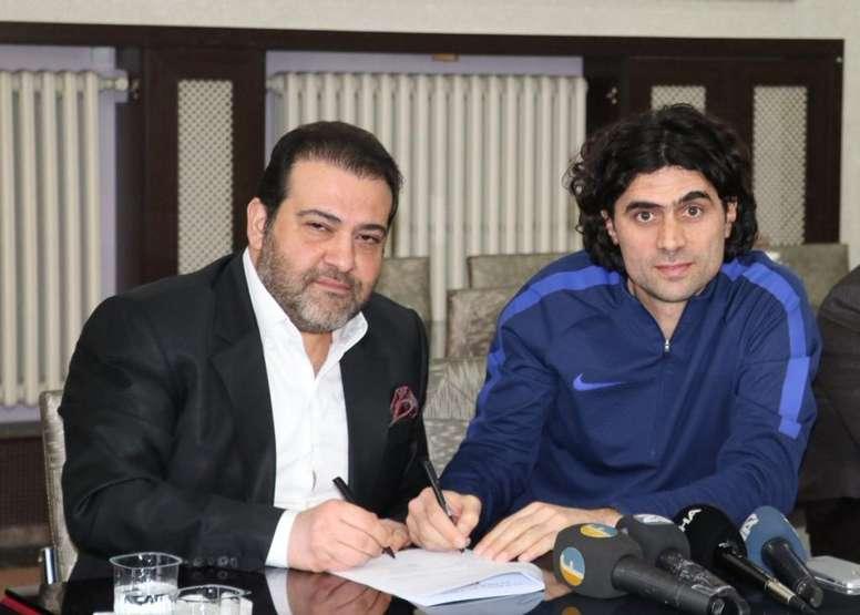 El Elazigspor tiene nuevo entrenador. Twitter/elazigspororgtr