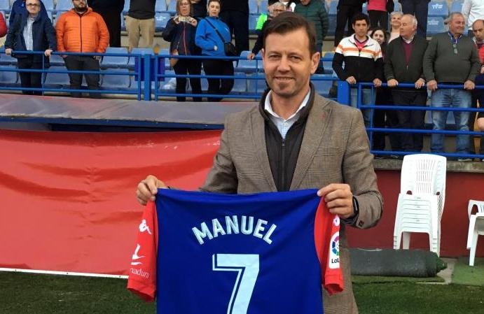 Manuel Mosquera ha logrado mantener al Extremadura en Segunda. EFE/Archivo