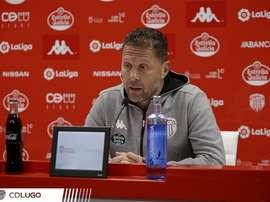 Curro Torres analizó el partido. Twitter/CDeportivoLugo