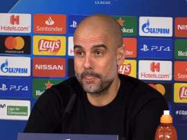Pep Guardiola talked about when Zidane went to visit him. Captura/MarcaTV