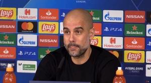 Pep Guardiola talked about when Zidane went to visit him. Captura/MarcaTV