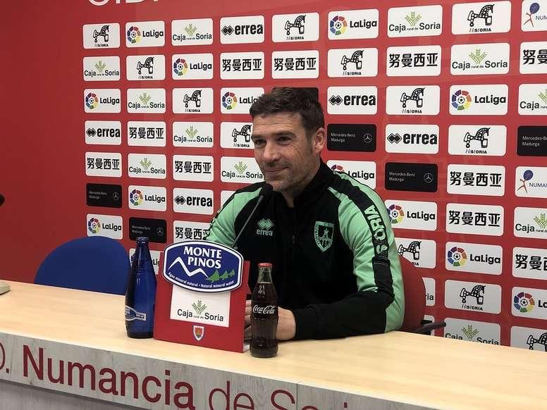 El Numancia recibe a Las Palmas. Twitter/cdnumancia