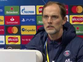 Thomas Tuchel spoke about Manchester United. Screenshot/Youtube/PSG