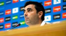 Gallego valoró el choque. EFE/Enric Fontcuberta