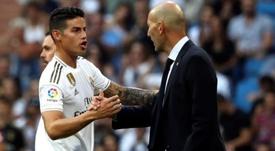 El Madrid piensa en Kanté... aunque le cueste James. EFE/KikoHuesca